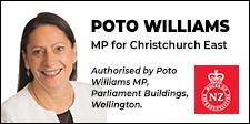 Poto Williams MP